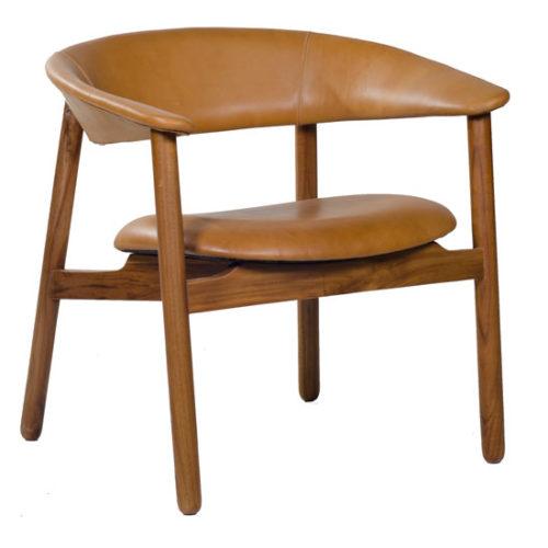 Boomerang Arm Chair